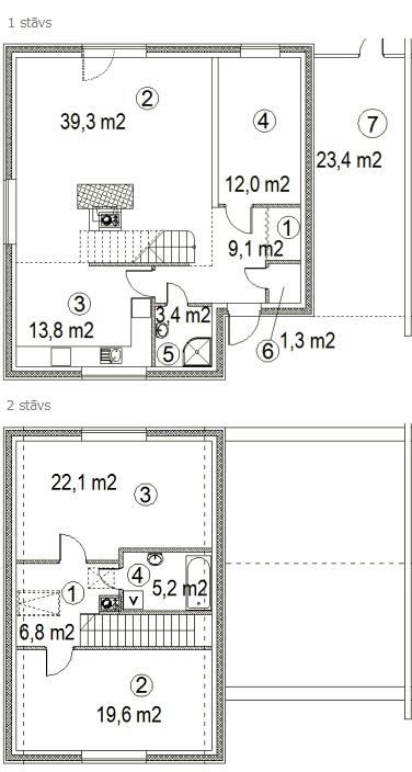 Māja: Brūkleņu iela 7