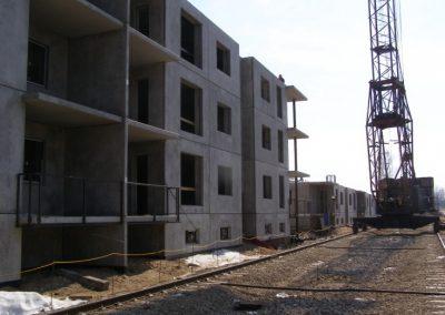 Skats uz dzīvokļa māju Nr.8, 2008.gada aprīlis