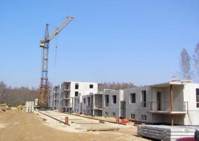 Skats uz dzīvokļu mājām Nr.7 un Nr.8, 2008.gada aprīlis