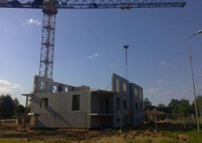 Dzērveņu 9. Otrā stāva būvniecība, 2013.gada jūnijs