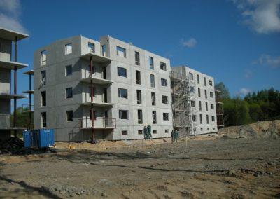 Dzīvokļu mājas 2008.gada maijā