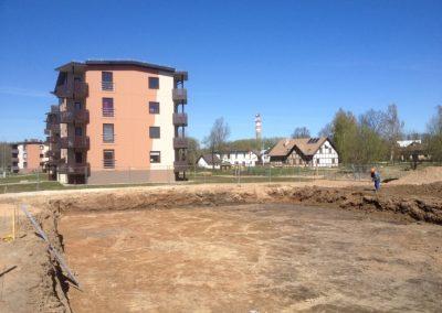 Jaunās daudzdzīvokļu mājas būvniecība, 2014.gada aprīlis