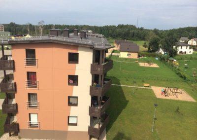 """Kvartāls """"Siguldas Mājas"""" 2014.gada augustā"""