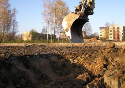 Būvbedres rakšana, 2007. gada oktobris