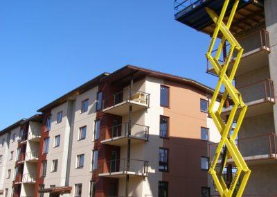 8.mājas ārsienu krāsošana, 2008.gada septembris