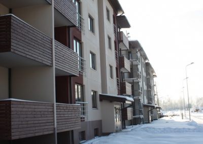 Dzīvokļu māja Nr.8, 2009.gada janvāris