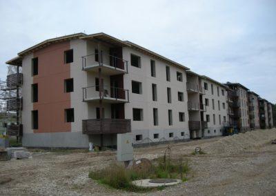 Dzērveņu 5, trešā dzīvokļu māja, 2010.gada septembris