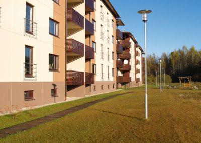 Siguldas Māju kvartāls, 2010.gada oktobris