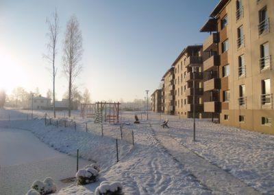 Siguldas Māju kvartāls, 2010.gada decembrī